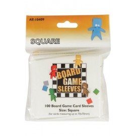 Board Game Sleeves Square (69x69mm) 10p