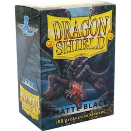 Dragon Shield Matte - Black(10x100)