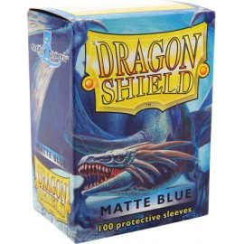 Dragon Shield Matte- Blue (10x100)