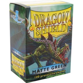 Dragon Shield Matte- Green (10x100)
