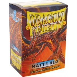 Dragon Shield Matte - Red (10x100)
