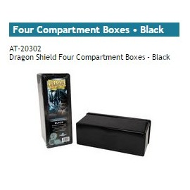 Dragon Shield Storage Box w. Four Comp black