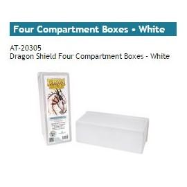 Dragon Shield Storage Box w. Four Comp white
