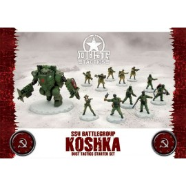 Dust Tactics SSU Battlegroup Koshka Starter