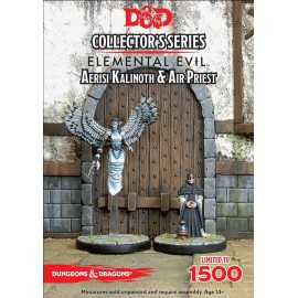 Dungeons&Dragons Elemental Evil Aerisi Kalinoth & Air Priest