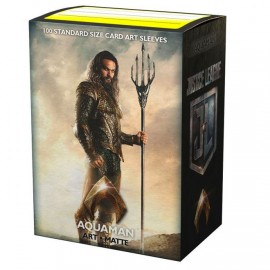 Dragon Shield Matte ART Sleeves (100) Justice League Aquaman