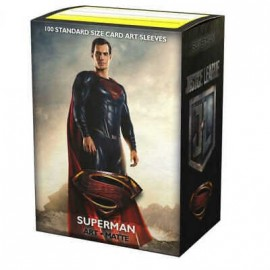 Dragon Shield Matte ART Sleeves (100) Justice League Superman