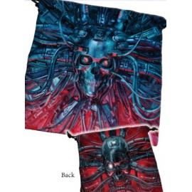 Deluxe Dice Bag Cyberskull