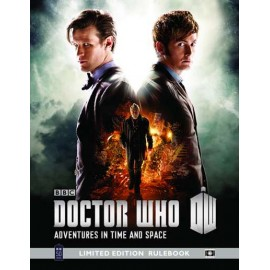 Doctor Who 50th Anniversary Limited Edition Rulebook