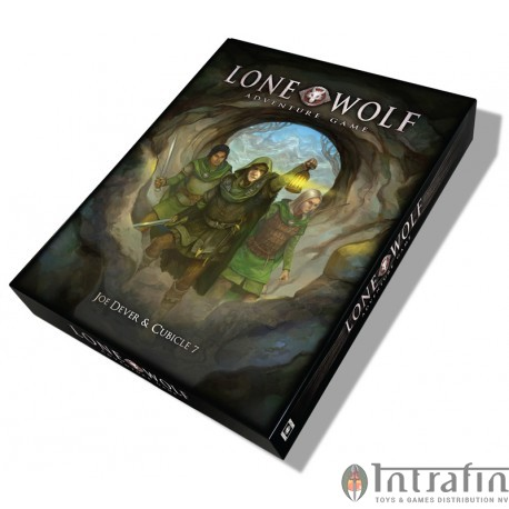 The Lone Wolf Adventure Game BoxedSet