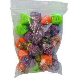 D10 Bag Toxic Dice (25)