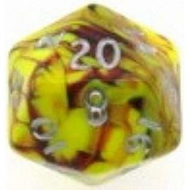 D20 Jumbo Toxic Die