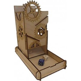 E-Raptor Dice Tower Steam Punk