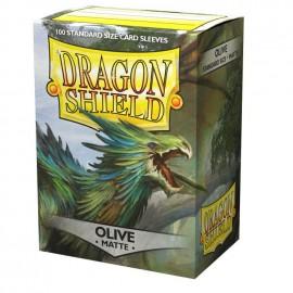 Dragon Shield Matte - Olive 'Lavom (10x100)