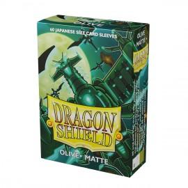 Dragon Shield - Matte Japanese Sleeves - Olive 'Bakudrane'(60)