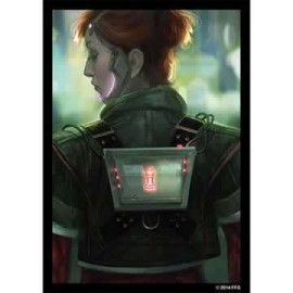 Android Netrunner Art Sleeves Deep red 50pRed (50)