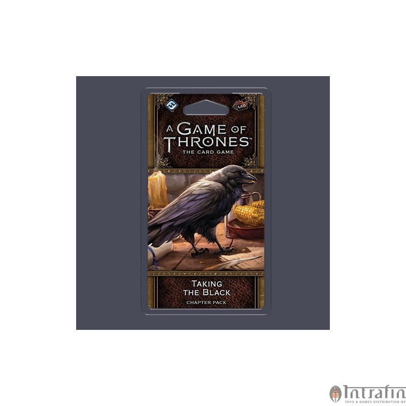 Taking the Black Chapter Pack A Game Of Thrones LCG