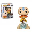 Animation: Avatar- Aang on Air Bubble w/ Glow (w/chase)