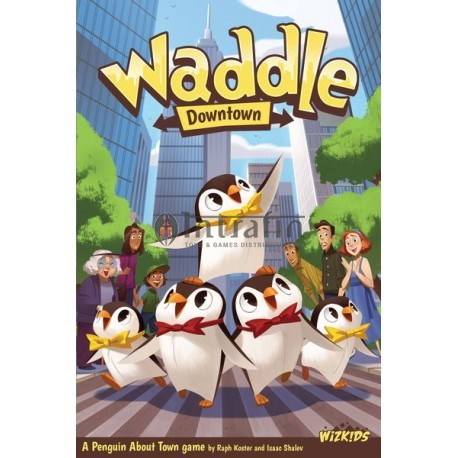 Waddle- board game