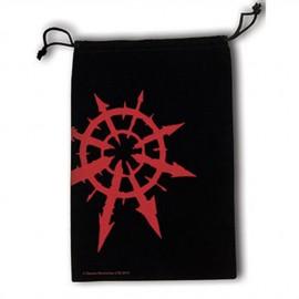 Warhammer 40K Dice Bag Chaos Star