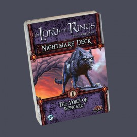 The Lord of the Rings LCG The Voice of Isengard Nightmare De