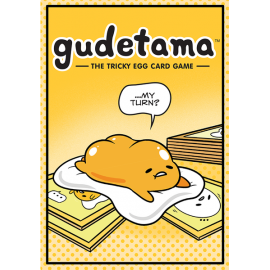 Gudetama the tricky egg card- board game