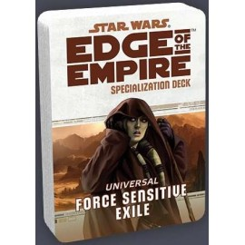 Star Wars Edge of the Empire ForceSensitive Exile Specializ