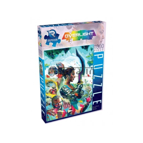 Jigsaw Puzzle - Overlight (1000 pieces )