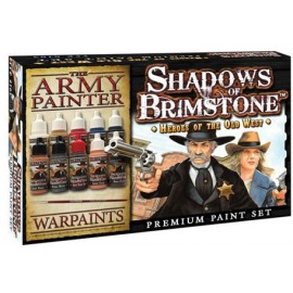 Shadows of Brimstone Heroes of theOld West Paint Set