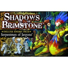 Shadows of Brimstone Serpentmen ofJargono Deluxe Enemy Pack