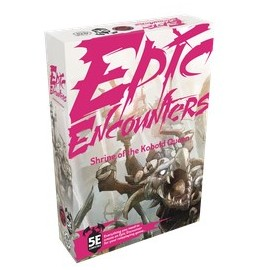 Epic Encounters: Shrine of the Kobold Queen - Miniature Game