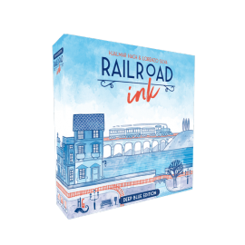 Railroad Ink - Deep Blue Edition -board game