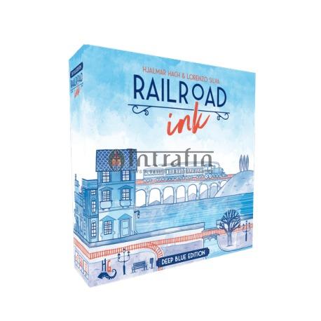 Railroad Ink - Deep Blue Edition -board game