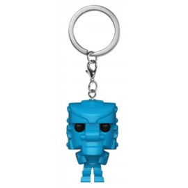 POP Keychain: Mattel - Rock 'Em Sock 'Em Robot (Blue)