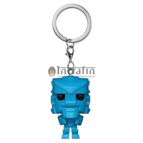 POP Keychain: Mattel - Rock 'Em Sock 'Em Robot (Blue)