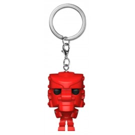 POP Keychain: Mattel - Rock 'Em Sock 'Em Robot (Red)