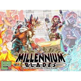 Millennium Blades (Boxed Fighting Board Game)