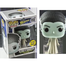 Monsters113 POP - Bride of Frankenstein Glow in the Dark EX