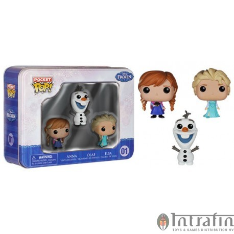 Pocket POP Tin 01 Disney - Frozen