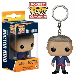 POP Keychain - Doctor Who - 12th Doctor