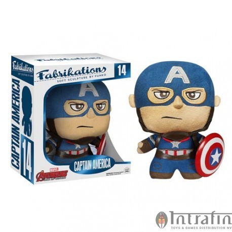 Fabrikations 14 Plush - Avengers of Ultron - Captain Americ