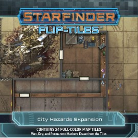 Starfinder Flip-Tiles: City Hazards Expansion