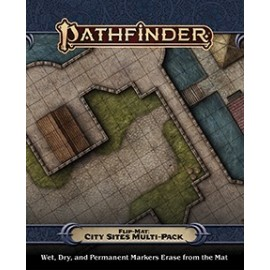 Pathfinder Flip-Mat: City Sites Multi-Pack