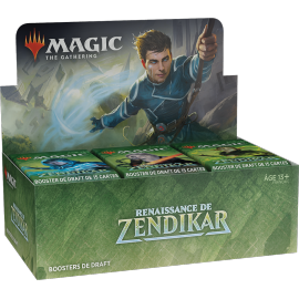 MTG Zendikar Rising French Draft Booster Display (36)