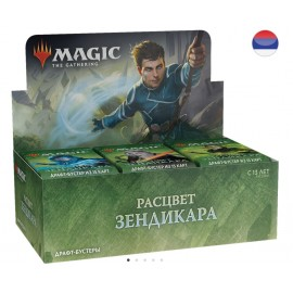 MTG Zendikar Rising Russian Draft Booster Display (36)