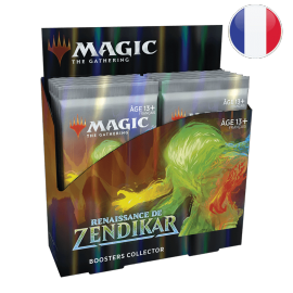 MTG Zendikar Rising Collector Booster(12) French
