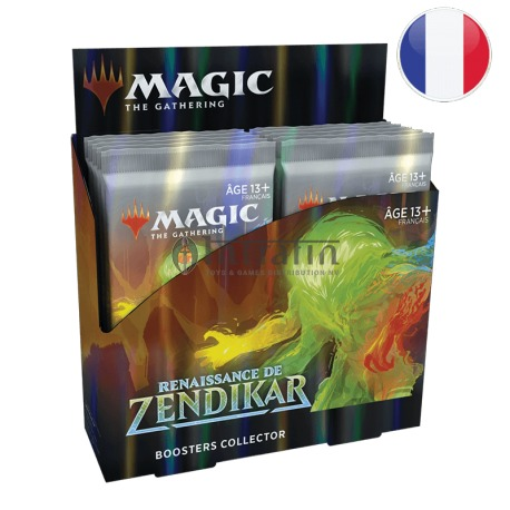 MTG Zendikar Rising Collector Booster(12) French