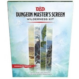 Dungeons & Dragons Next Dungeon Master's Screen Wilderness Kit