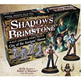 Shadows of Brimstone S: Alt Gender Hero Pack - City of the Ancients