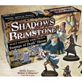 Shadows of Brimstone S: Alt Gender Hero Pack - Swamps of Death